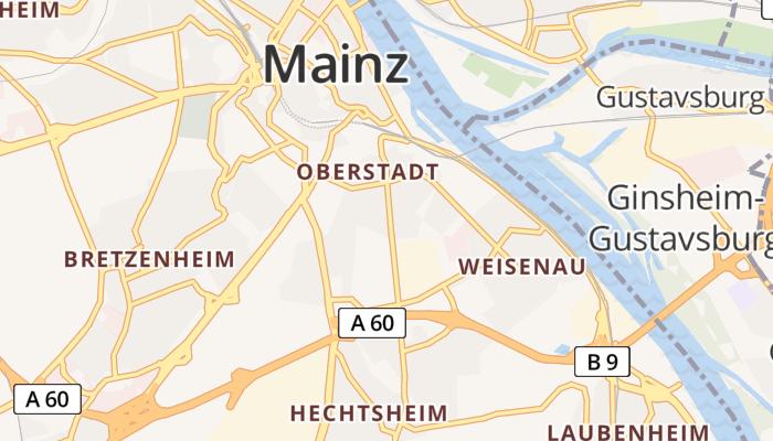 Mainz online kaart