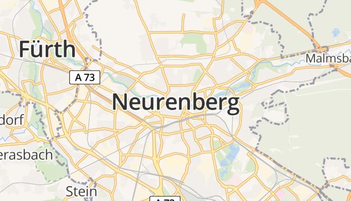 Neurenberg online kaart