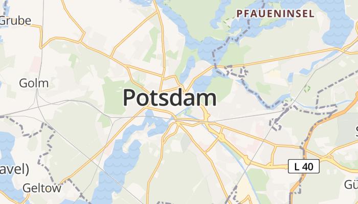 Potsdam online kaart