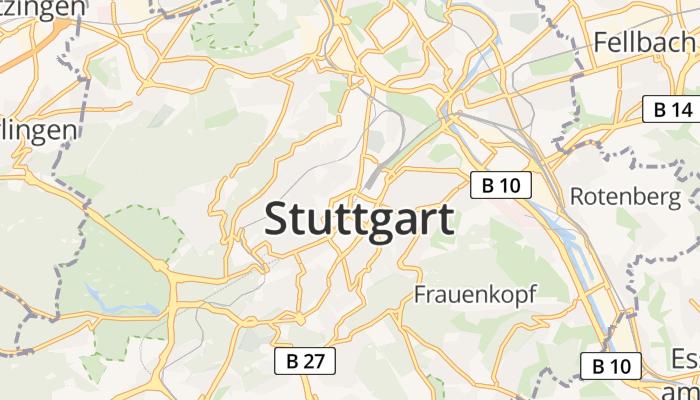 Stuttgart online kaart