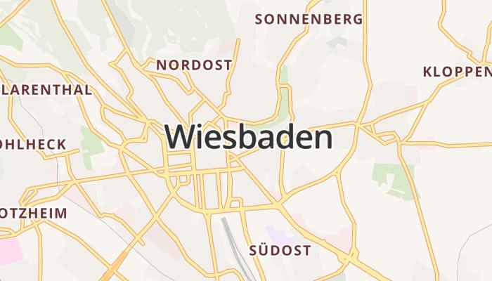 Wiesbaden online kaart