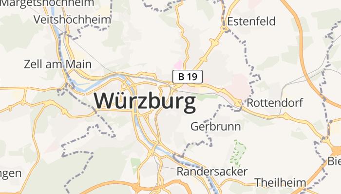 Würzburg online kaart