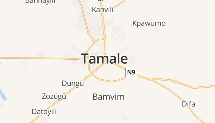 Tamale online kaart