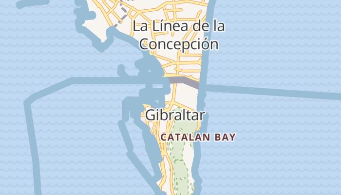 Gibraltar online kaart
