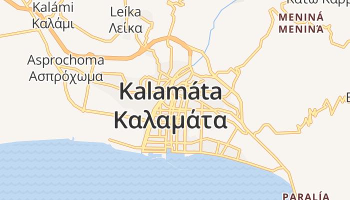 Kalamata online kaart