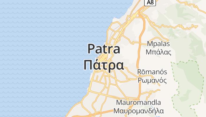 Patras online kaart