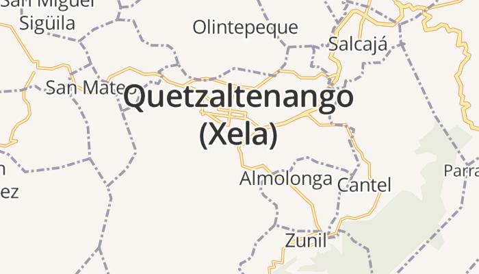 Quetzaltenango online kaart