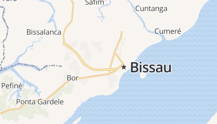 Bissau online kaart
