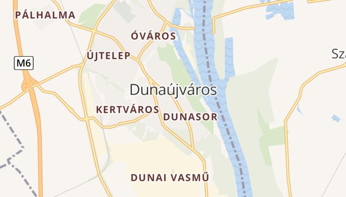 Dunaújváros online kaart
