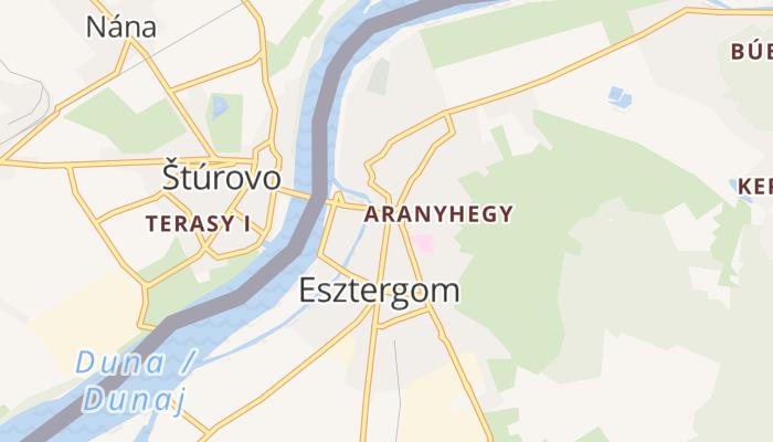 Esztergom online kaart