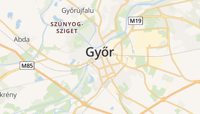 Győr online kaart