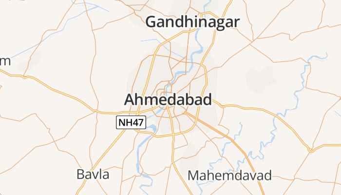 Ahmedabad online kaart
