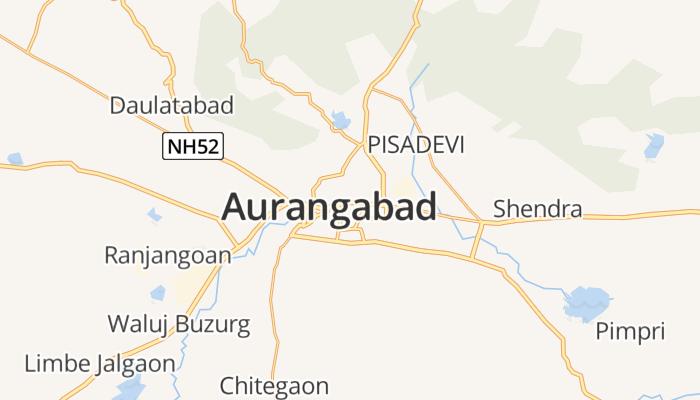 Aurangabad online kaart