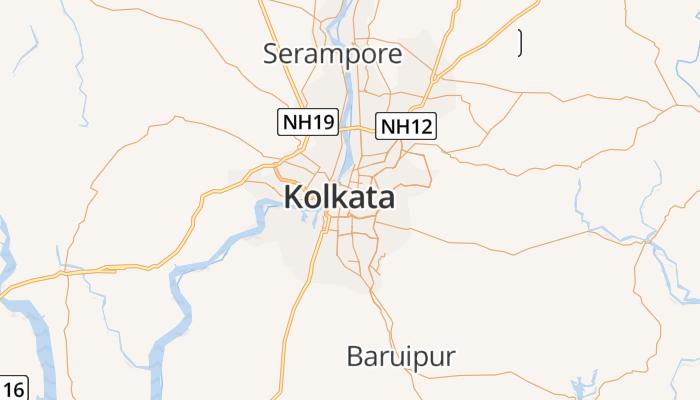 Calcutta online kaart