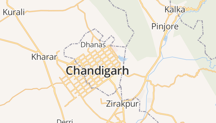 Chandigarh online kaart