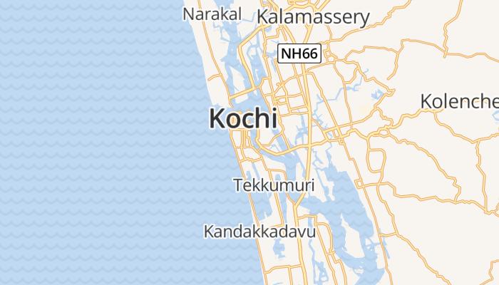 Kochi online kaart