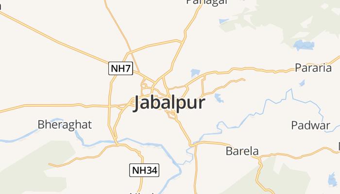 Jabalpur online kaart