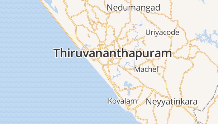 Trivandrum online kaart