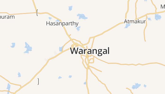 Warangal online kaart