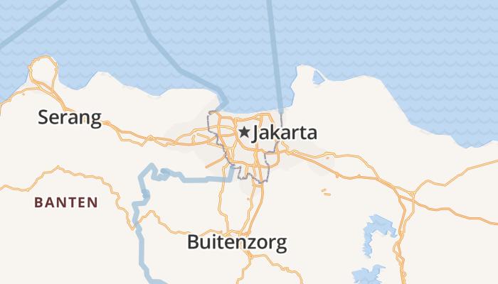Jakarta online kaart