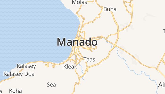 Manado online kaart