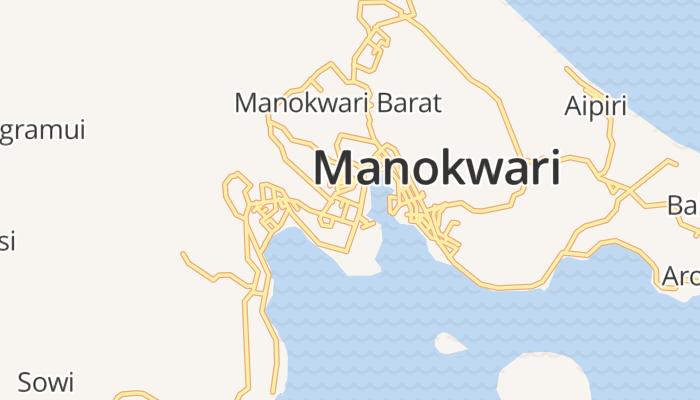 Manokwari online kaart