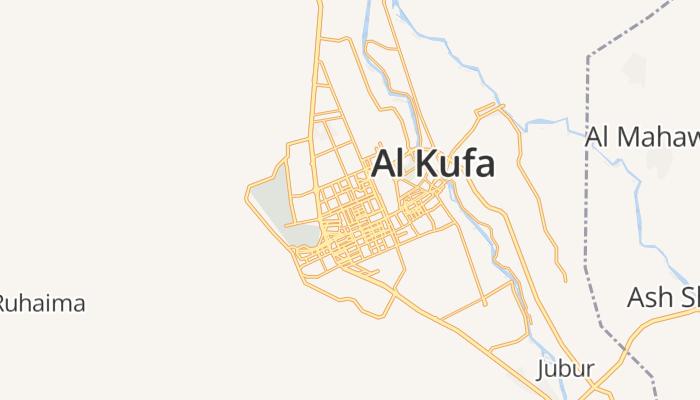 Najaf online kaart