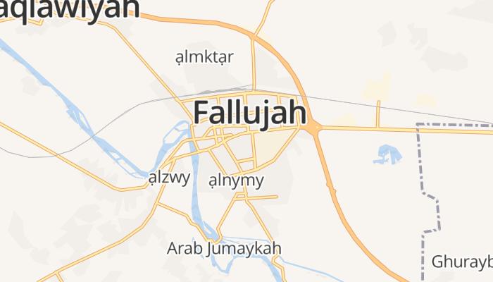 Fallujah online kaart