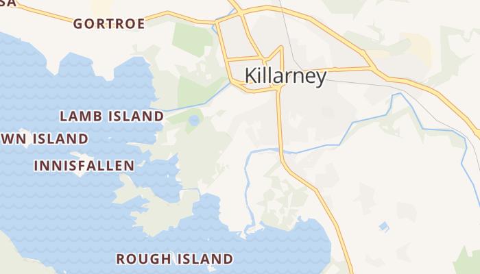Killarney online kaart