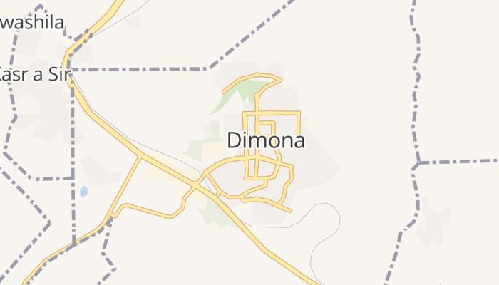 Dimona online kaart