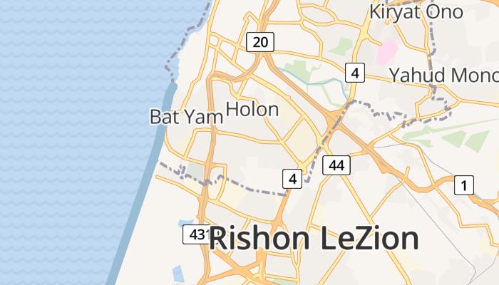 Holon online kaart