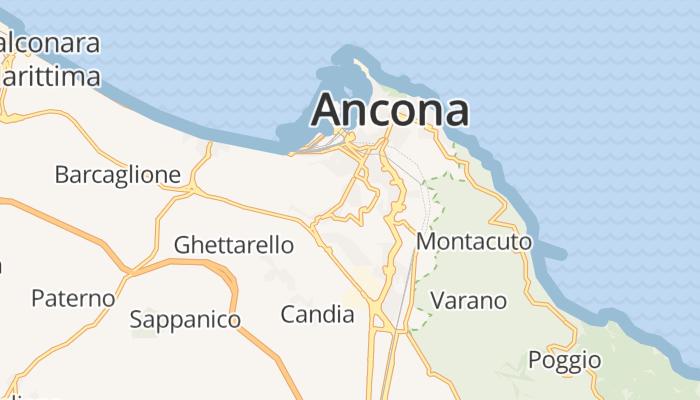 Ancona online kaart