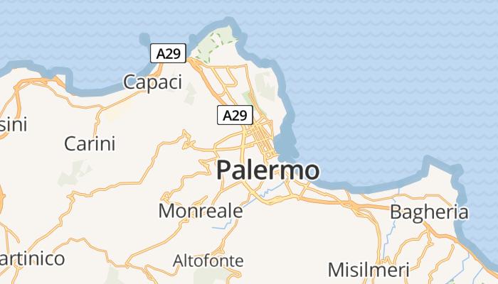 Palermo online kaart