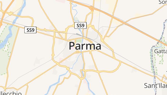 Parma online kaart