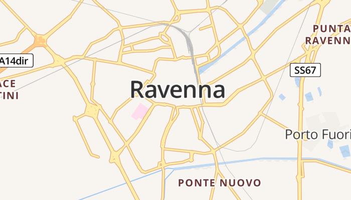 Ravenna online kaart