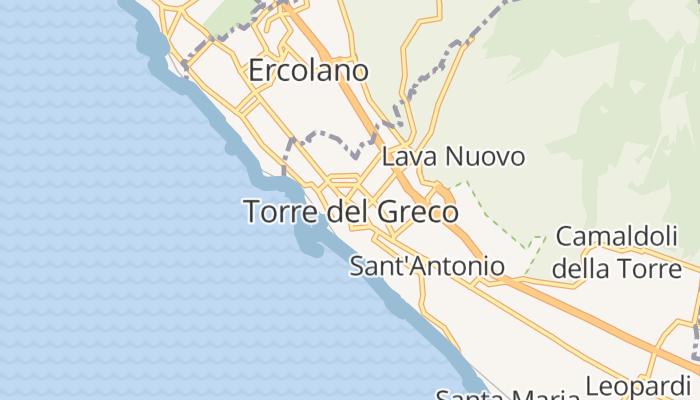 Torre del Greco online kaart