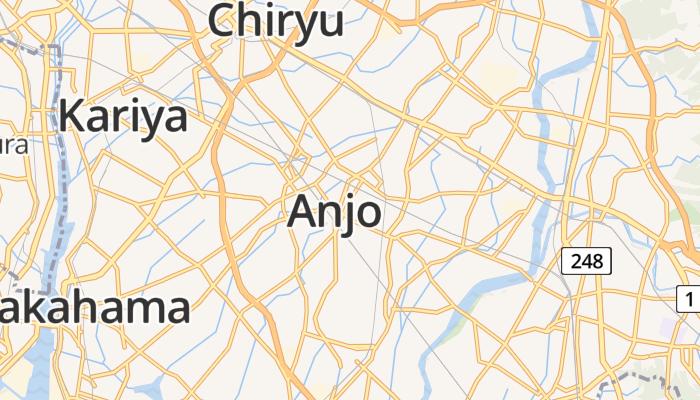 Anjo online kaart