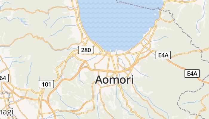 Aomori online kaart