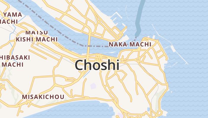 Choshi online kaart