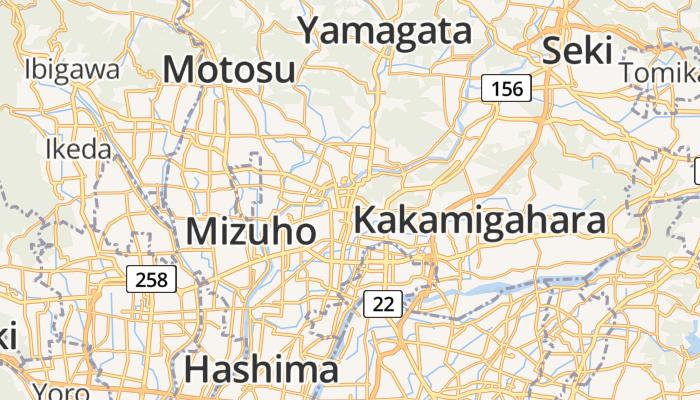 Gifu online kaart