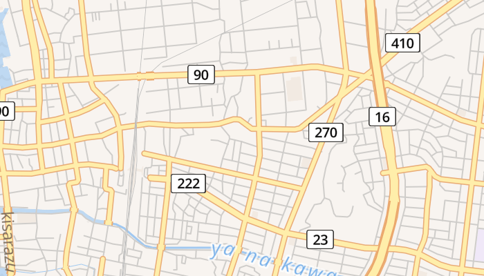 Kisarazu online kaart