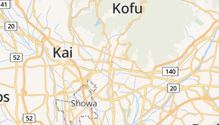 Kofu online kaart