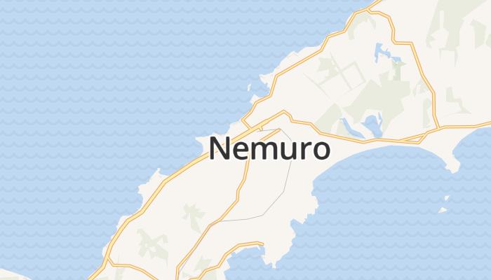 Nemuro online kaart