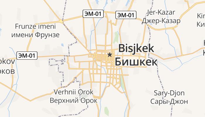 Bisjkek online kaart