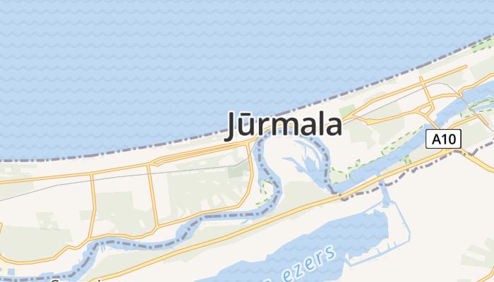Jūrmala online kaart