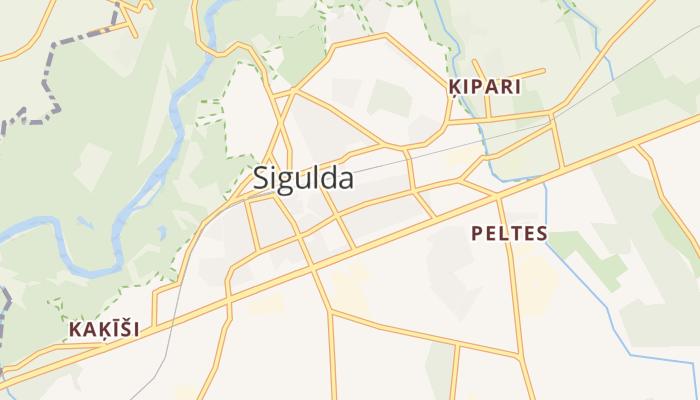 Sigulda online kaart
