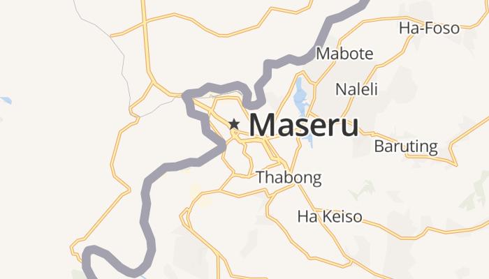 Maseru online kaart