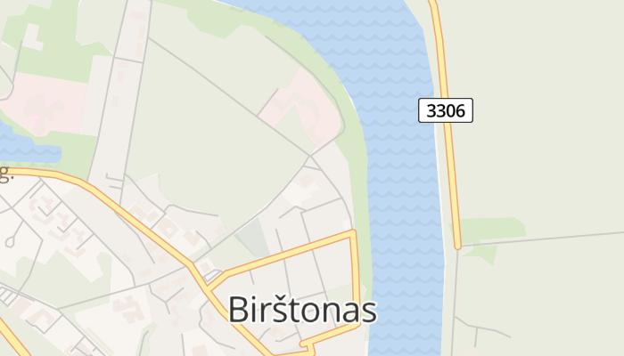 Birštonas online kaart