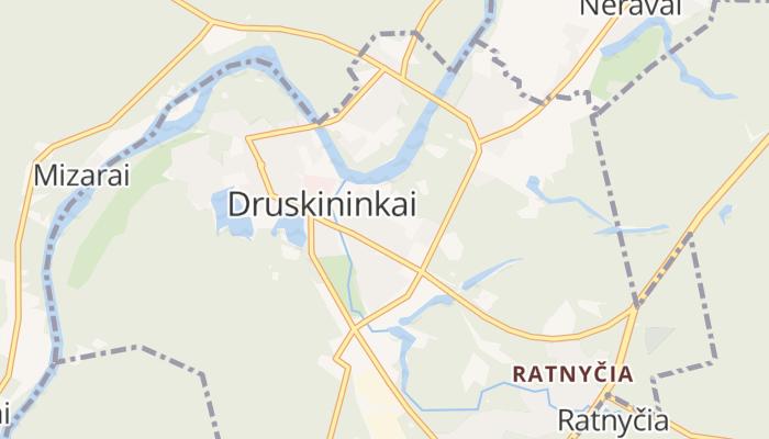 Druskininkai online kaart
