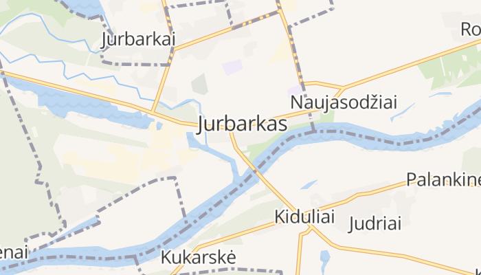 Jurbarkas online kaart
